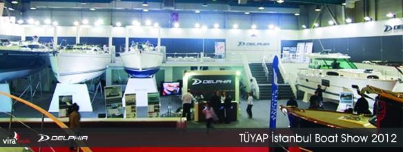 TÜYAP İstanbul Boat Show'daydık!