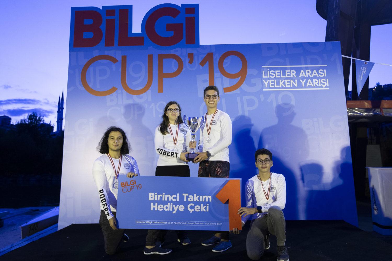 2019 BİLGİ Cup Birincisi Robert Koleji!